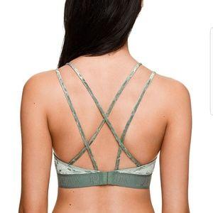 3c52c7665905bb PINK Victoria s Secret Intimates   Sleepwear - PINK Velvet Unlined Bra in SageBrush  Size ...